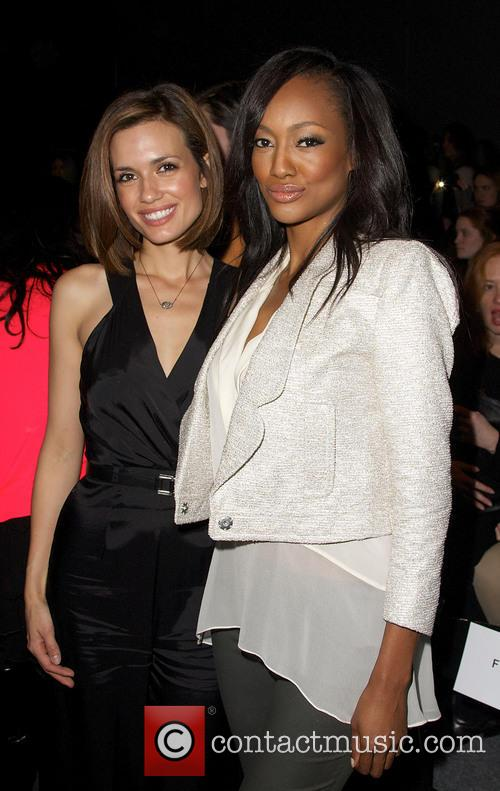 Torrey Devitto, Nichole Galicia and New York Fashion Week 8
