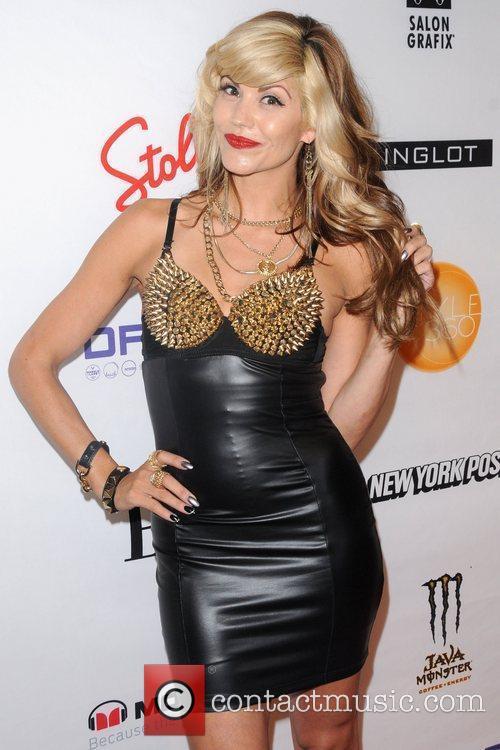 Sharie Manon Mercedes-Benz New York Fashion Week Spring/Summer...