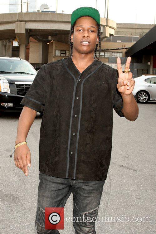 ASAP Rocky aka Rakim Mayers Mercedes-Benz New York...