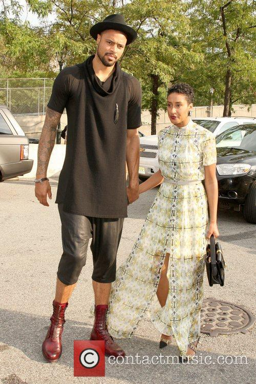 Tyson Chandler and wife Kimberly Chandler  Mercedes-Benz...