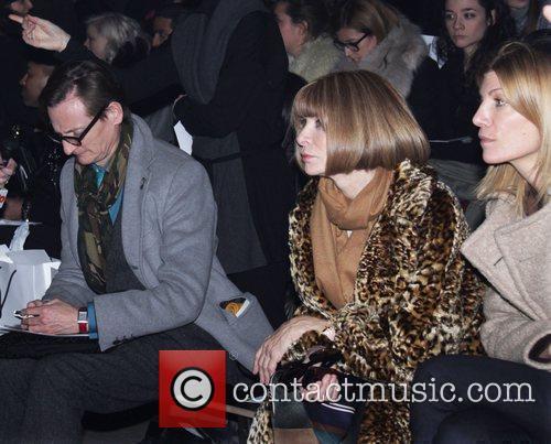 Anna Wintour Mercedes-Benz Fashion Week Fall 2012 -...