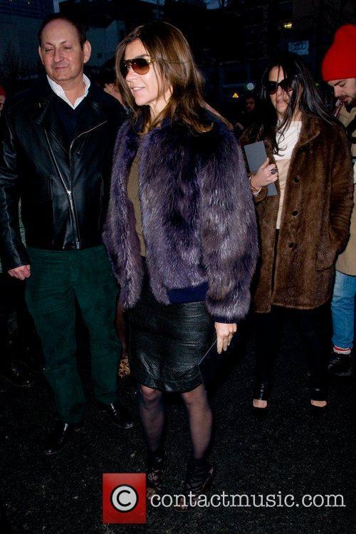 Carine Roitfeld  Mercedes-Benz Fashion Week Fall 2012...