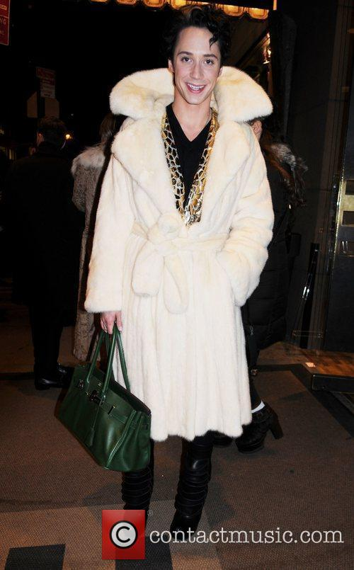 johnny weir mercedes benz fashion week fall 3729929