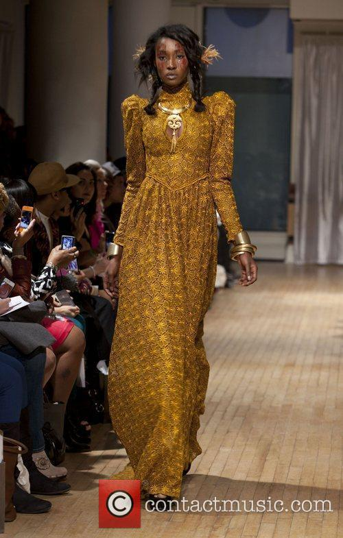 Mercedes-Benz Fashion Week - Fall 2012 - Anna...