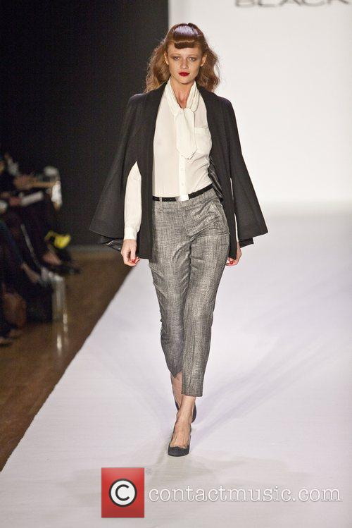 Model Mercedes-Benz Fashion Week - Fall 2012 -...