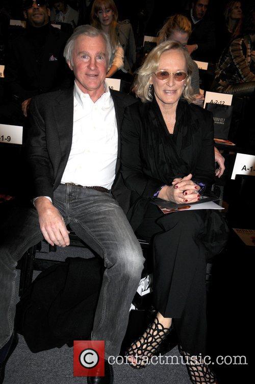 David Evans Shaw and Glenn Close Mercedes-Benz Fashion...
