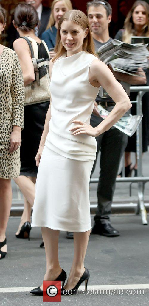 Amy Adams Mercedes-Benz New York Fashion Week Spring/Summer...