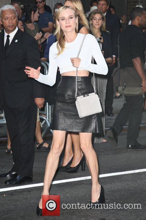 Diane Kruger  Mercedes-Benz New York Fashion Week...