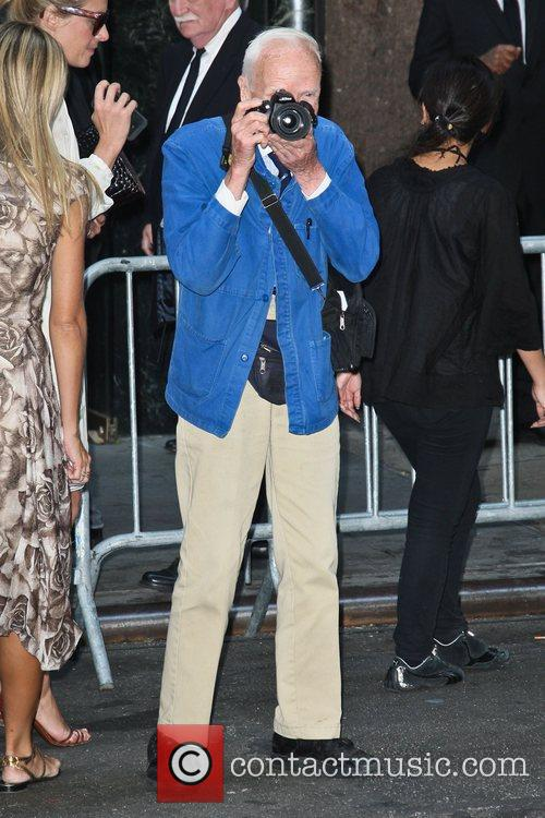 Photographer Bill Cunningham  Mercedes-Benz New York Fashion...