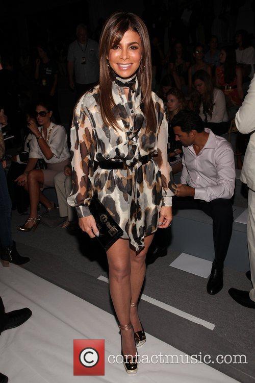 Paula Abdul Mercedes-Benz New York Fashion Week Spring/Summer...