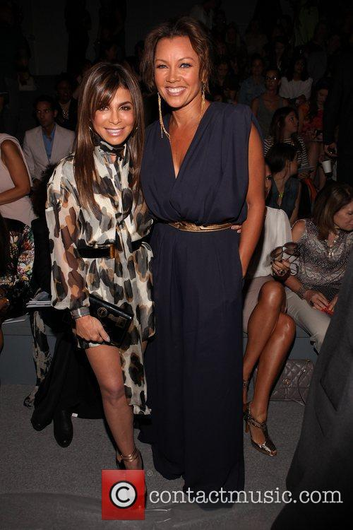 Paula Abdul, Vanessa Williams Mercedes-Benz New York Fashion...