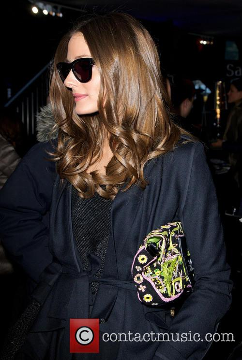 Olivia Palermo Mercedes-Benz New York Fashion Week Autumn/Winter...