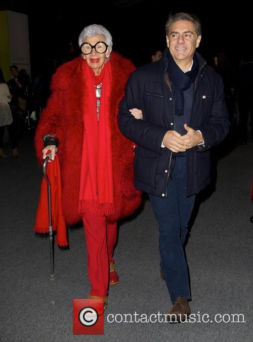Iris Apfel Mercedes-Benz New York Fashion Week Autumn/Winter...