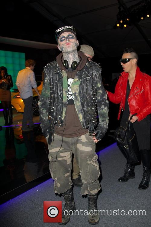 Rick Genest, Zombie Boy and New York Fashion Week 2