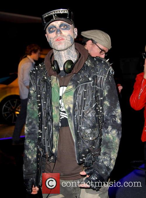 Rick Genest, Zombie Boy and New York Fashion Week 3