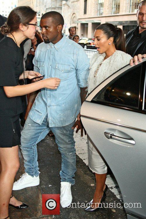 Kim Kardashian, Kanye West and New York Fashion Week 3