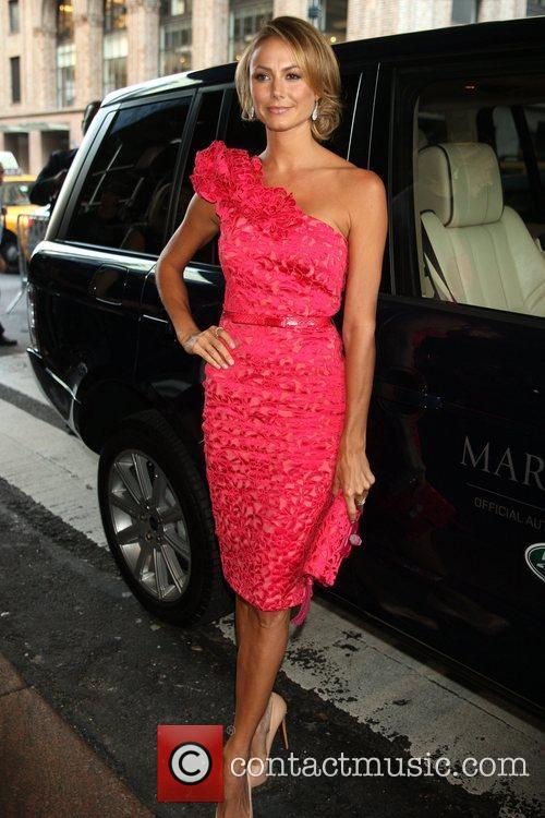 Stacy Keibler and New York Fashion Week 3
