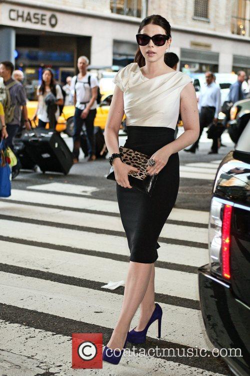 Michelle Trachtenberg and New York Fashion Week 2