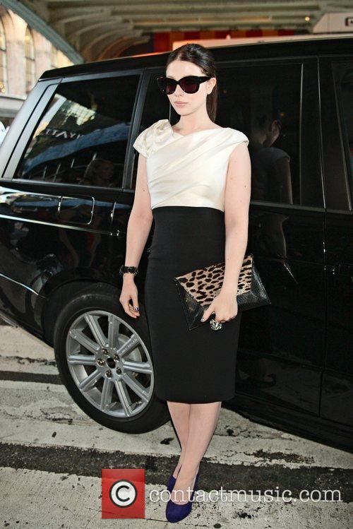 Michelle Trachtenberg and New York Fashion Week 4