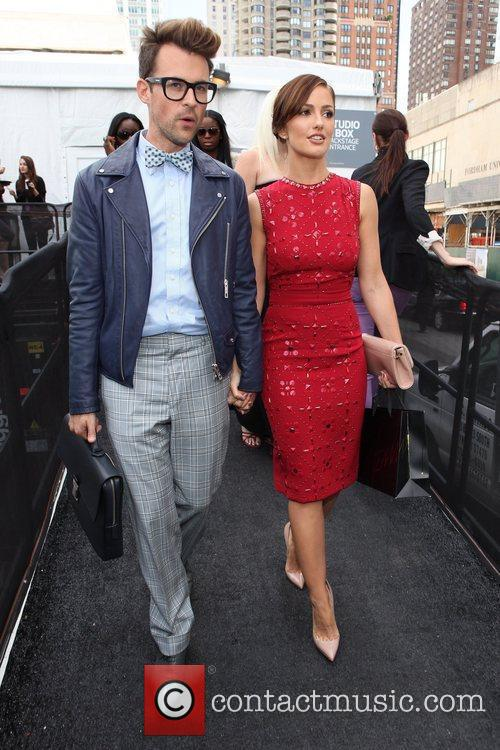 Minka Kelly, Brad Goreski and New York Fashion Week 3