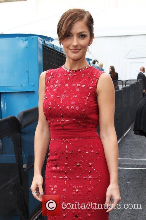 Minka Kelly and New York Fashion Week 1