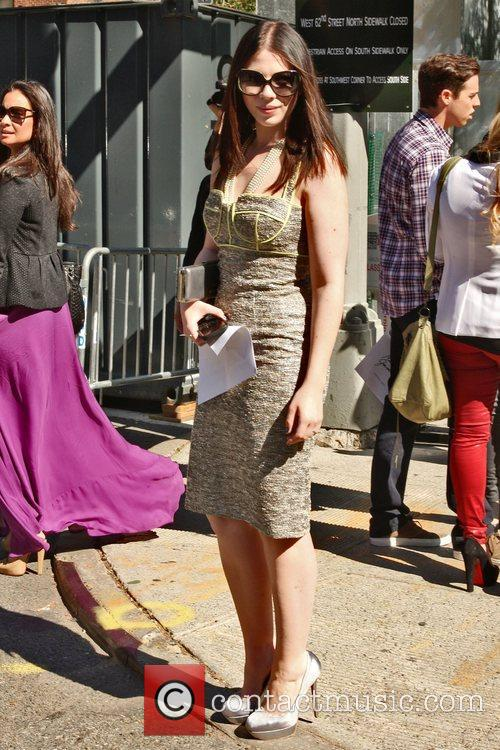 Michelle Trachtenberg and New York Fashion Week 1