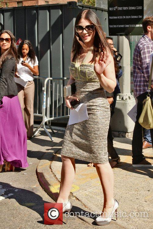 Michelle Trachtenberg and New York Fashion Week 2