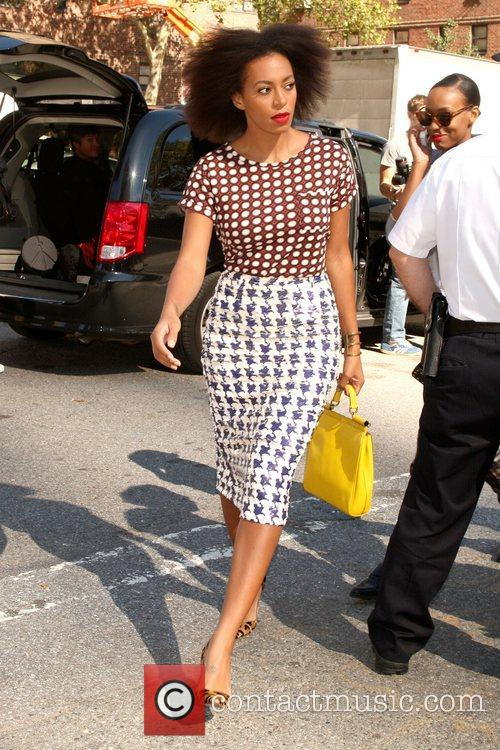Solange Knowles and New York Fashion Week 1