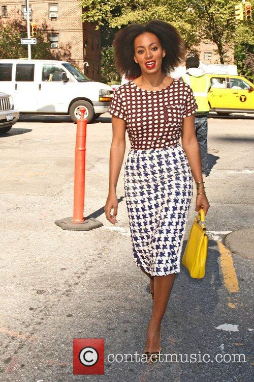 Solange Knowles and New York Fashion Week 2