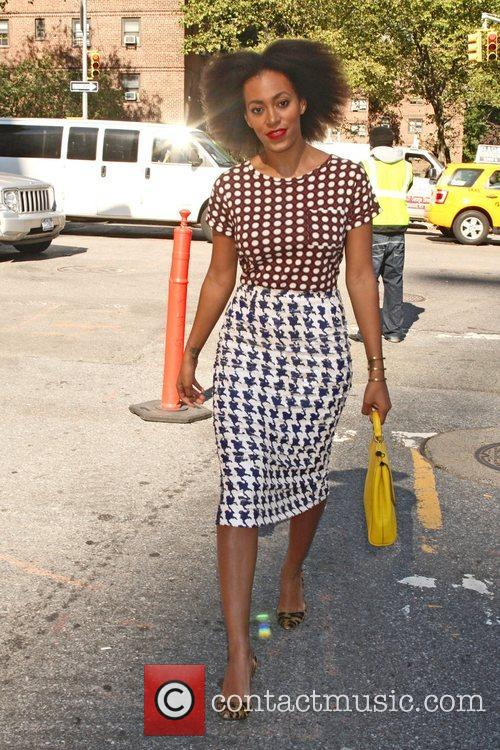 Solange Knowles and New York Fashion Week 3