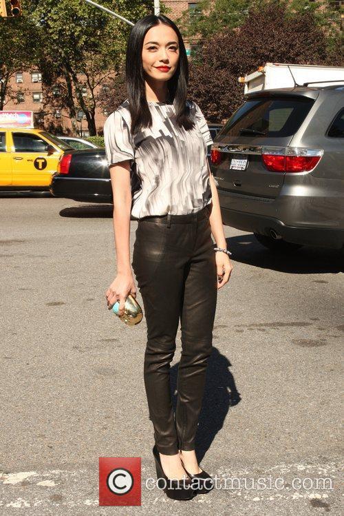 Yao Chen Mercedes-Benz New York Fashion Week Spring/Summer...