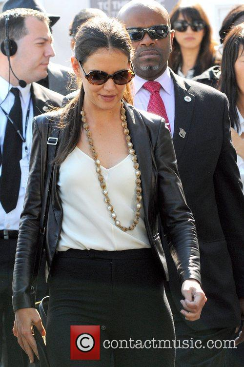 Katie Holmes and New York Fashion Week 3