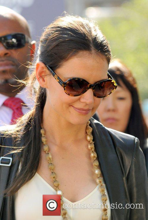 Katie Holmes and New York Fashion Week 4