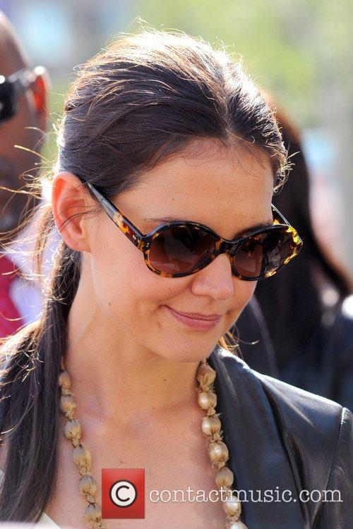 Katie Holmes and New York Fashion Week 5
