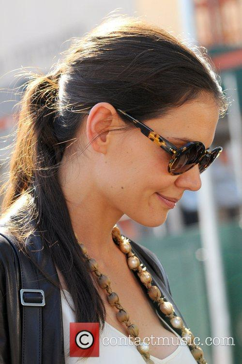 Katie Holmes and New York Fashion Week 6