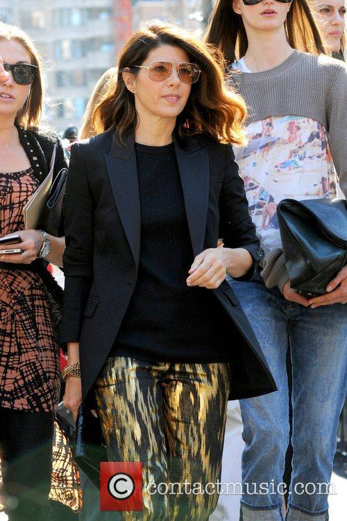 Marisa Tomei and New York Fashion Week 2