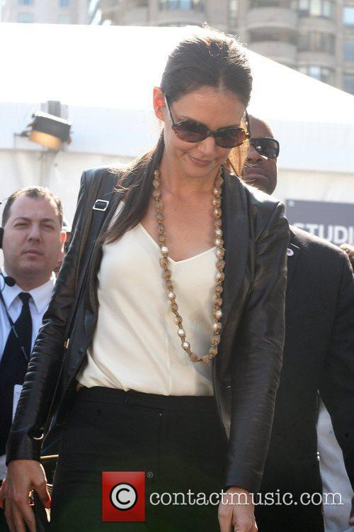 Katie Holmes and New York Fashion Week 9