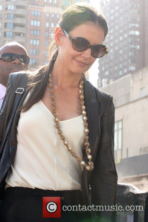 Katie Holmes and New York Fashion Week 10