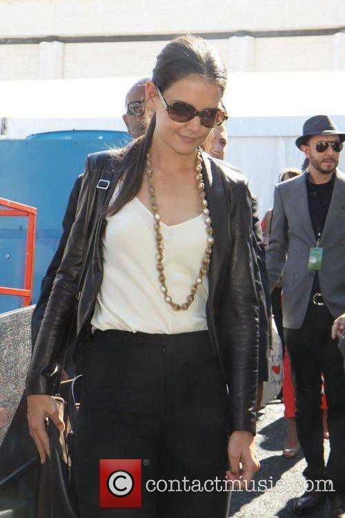 Katie Holmes and New York Fashion Week 13