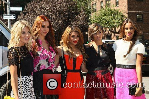 The Saturdays and New York Fashion Week 1