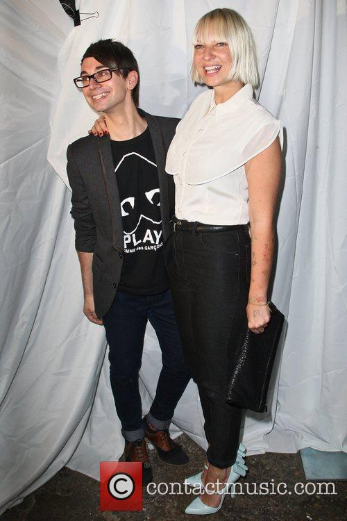 Christian Siriano and Sia 1