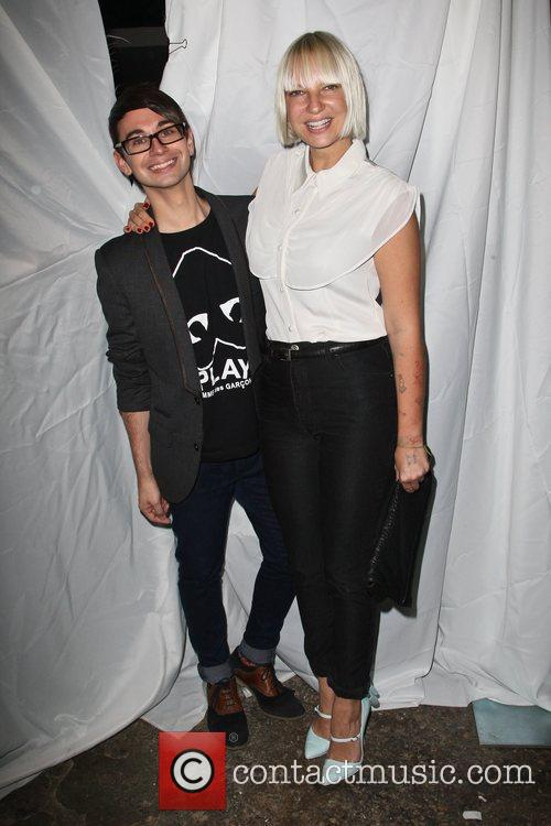Christian Siriano and Sia 3