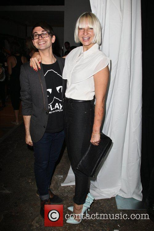 Christian Siriano and Sia 7