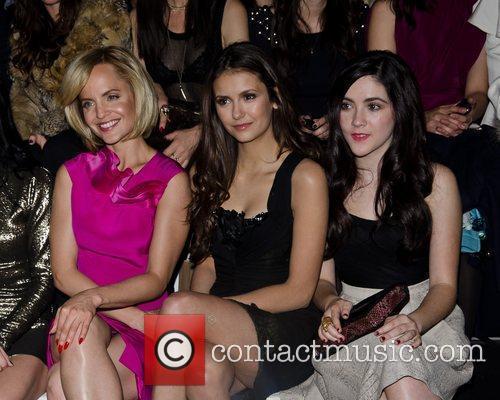 Mena Suvari, Nina Dobrev and Isabelle Fuhrman Mercedes-Benz...