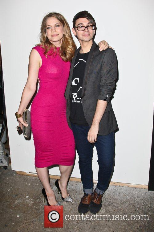 Anna Chlumsky and Christian Siriano 10