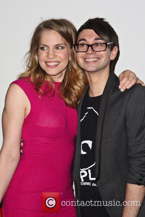 Anna Chlumsky and Christian Siriano 11