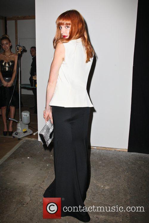 Nicole Laliberte Mercedes-Benz New York Fashion Week Spring/Summer...