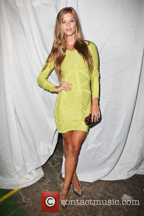 Nina Agdal Mercedes-Benz New York Fashion Week Spring/Summer...