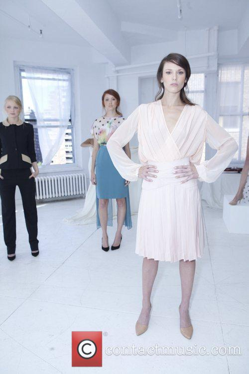 Models Mercedes-Benz New York Fashion Week Spring/Summer 2013...