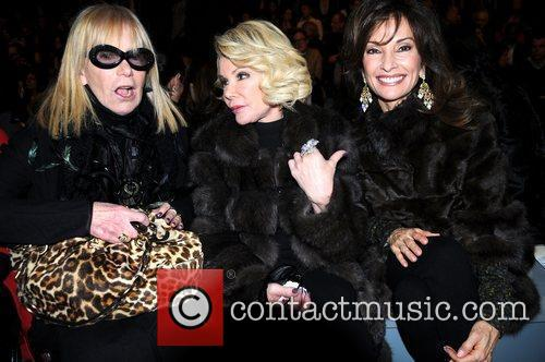 Guest, Joan Rivers, Susan Lucci Mercedes-Benz Fashion Week...